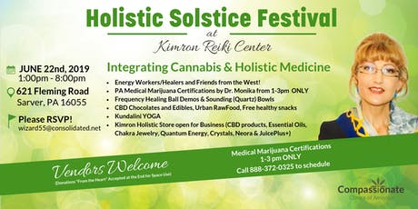 Holistic Solstice Festival and PA Medical Marijuana Certifications tickets