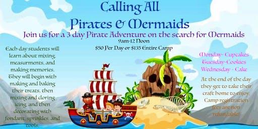 Pirates and Mermaids Cake Camp: Make/Bake/Decorate & Take