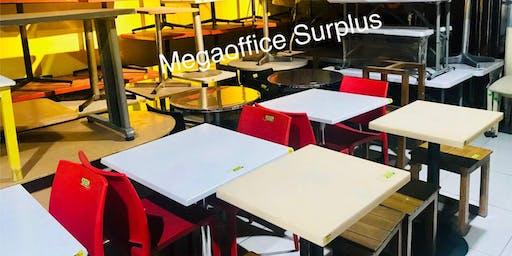 Amazing Resto Furniture Sale @ Megaoffice Bulacan