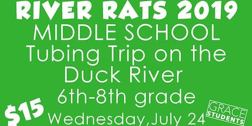 River Rats Tubing Trip