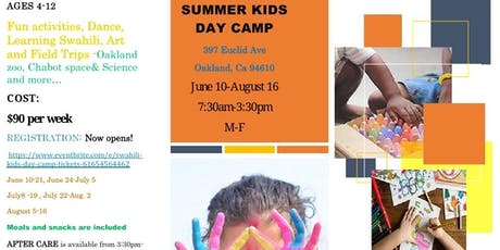 SUMMER KIDS DAY CAMP tickets