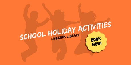Paper flowers - School Holiday Activity - Childers Library tickets