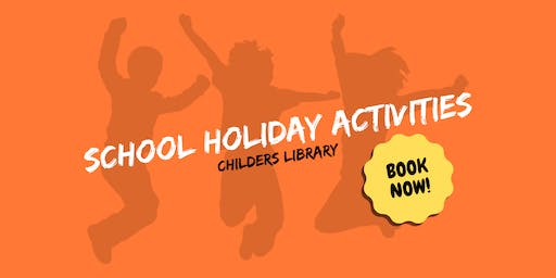 Paper flowers - School Holiday Activity - Childers Library