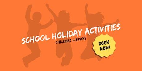 Rainbow Fish - School Holiday Activity - Childers Library tickets