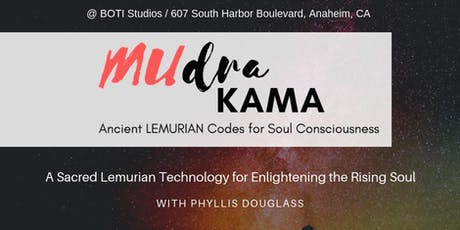 """MUdra Kama: """"Ancient Lemurian Codes for Soul Consciousness"""" with Vox Angelus tickets"""
