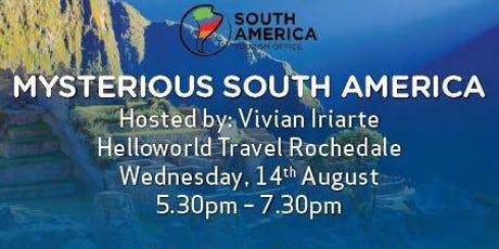 Mysterious South America tickets