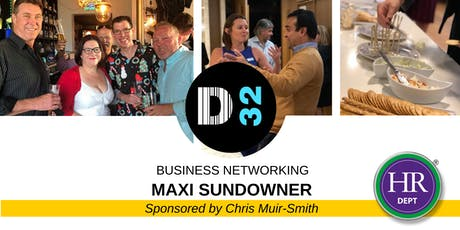 District32 Business Networking Maxi Sundowner - Fri 28th June tickets
