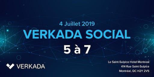 Verkada IT Social 2019 - Un 5 à 7 Sponsorisé par Verkada (Hotel Saint-Sulpice Montreal)