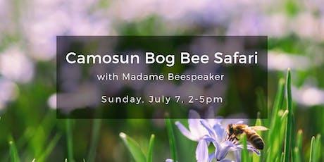 Camosun Bog Bee Safari tickets