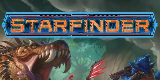 Free RPG Day 2019 Session: Starfinder Skitter Crash (6pm Session)