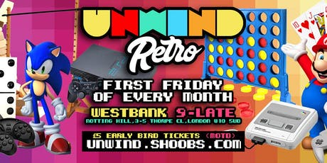 Unwind Retro tickets