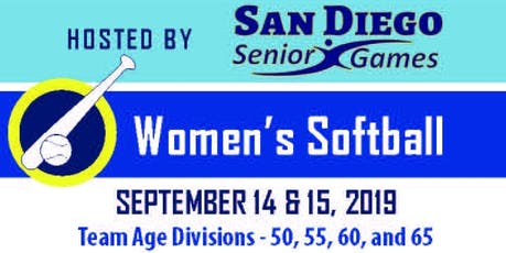 Softball Age 50+ Senior State Championships San Diego tickets