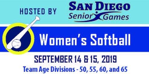 Softball Age 50+ Senior State Championships San Diego
