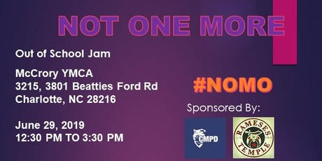 NOMO - Out of School Jam tickets