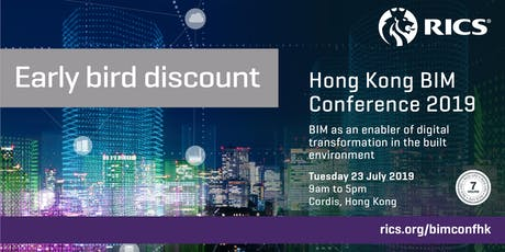 (New) RICS Hong Kong BIM Conference 2019 tickets