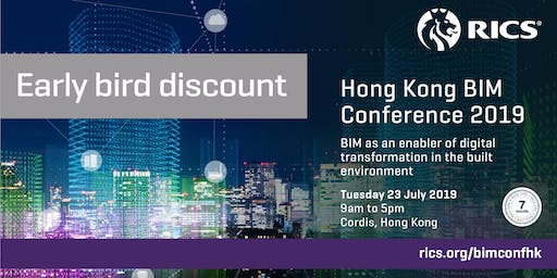 (New) RICS Hong Kong BIM Conference 2019