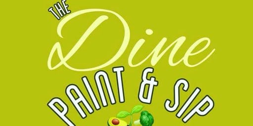 Dine, Paint & Sip Experience