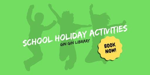 9+ Robotics & Coding Fun - School Holiday Activity - Gin Gin Library