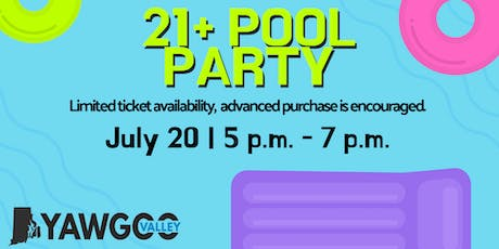 21+ Pool Party at Yawgoo tickets