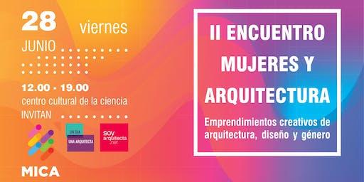 II Encuentro de Mujeres y Arquitectura