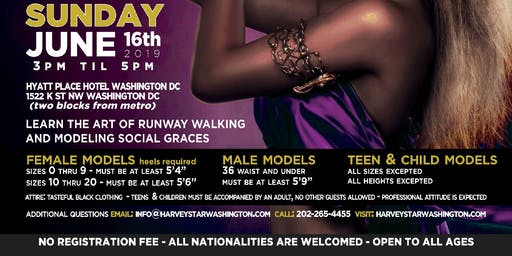 OPEN CASTING MODEL SEARCH THIS SUNDAY JUNE 16TH