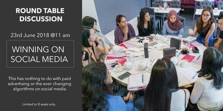(SG) RoundTable Discussion: Social Media Marketing tickets
