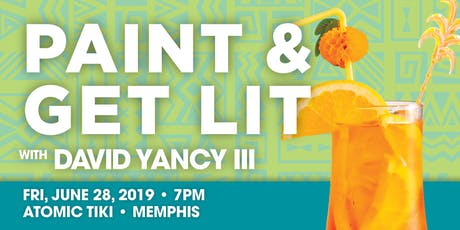 Paint & Get Lit @ Atomic Tiki tickets