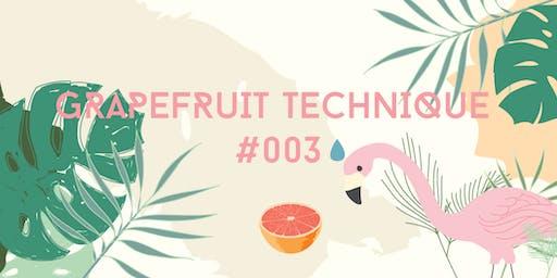 Grapefruit Technique #3: SUMMER NIGHTS