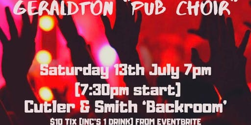 "Geraldton ""Pub Choir"""