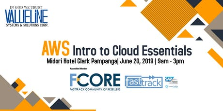 Valueline goes to Clark: Amazon Web Services Intro to Cloud Essentials tickets