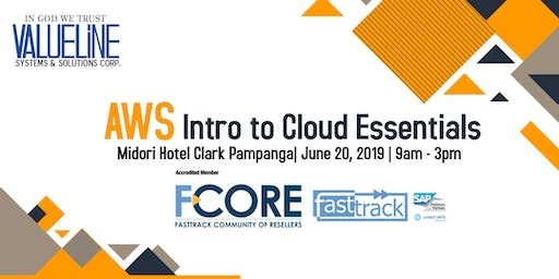 Valueline goes to Clark: Amazon Web Services Intro to Cloud Essentials