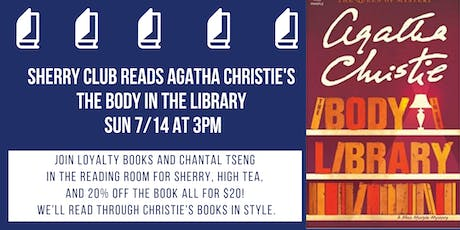 Sherry and Agatha Christie Book Club Discusses The Body in the Library tickets