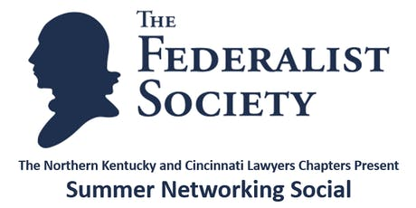 Federalist Society Networking Social tickets