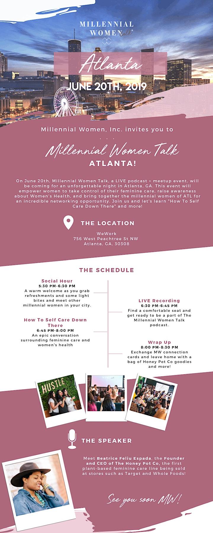 Millennial Women Talk, a LIVE podcast + meet-up in Atlanta, GA! image