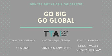 TTA 2019 2H Call for Startups! tickets