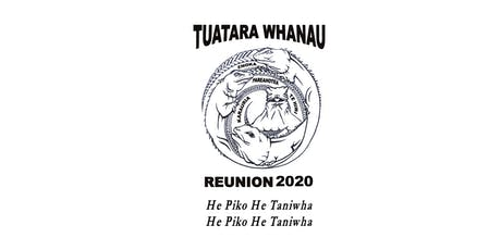Tuatara Reunion 2020 tickets