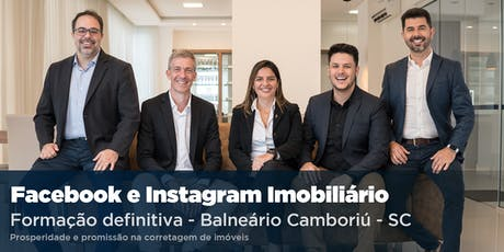 Facebook e Instagram Imobiliário DEFINITIVO - Balneário Camboriú ingressos