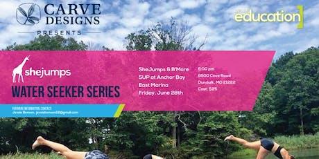 MD SheJumps & B'More SUP at Anchor Bay East Marina tickets