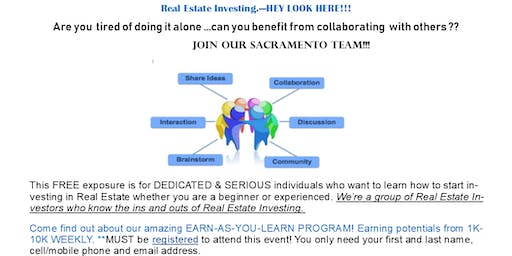 Sacramento Real Estate Training