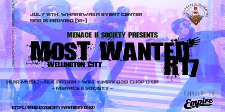 MOST WANTED - Menace 2 Society tickets