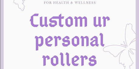Custom Ur Own Rollers tickets