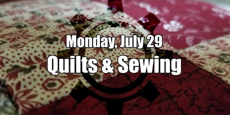 Summer Quilting and Sewing Club II tickets