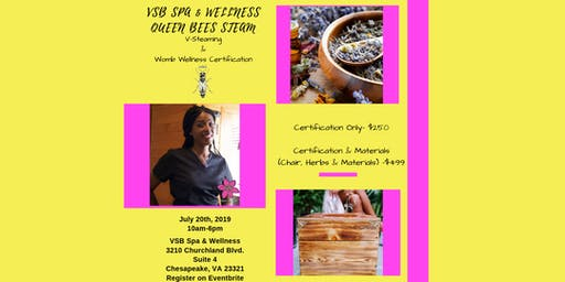 V-Steaming & Womb Wellness Certification