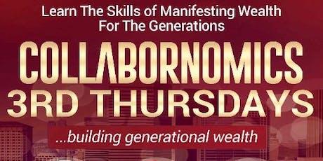 Collabornomics: 3rd Thursdays tickets