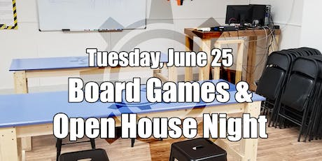 Board Game and Open Makerspace Night tickets