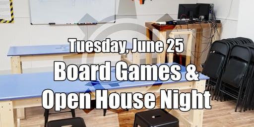 Board Game and Open Makerspace Night