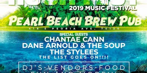 "Rush Fest Music Festival  ""Tropic Island Night"""
