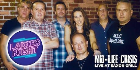 Mid-Life Crisis LIVE at Saxon Grill tickets