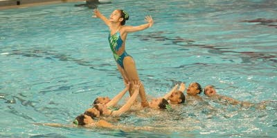 Pirouettes of Texas Synchronized Swimming Summer Splash
