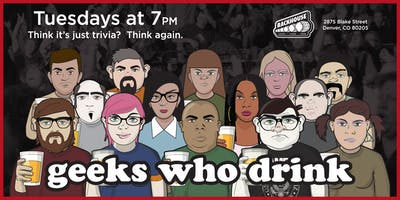 Geeks Who Drink Pub Quiz